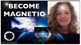 HOW TO BECOME MAGNETIC AND DRAW THE UNIVERSE TO YOU- (change your reality)