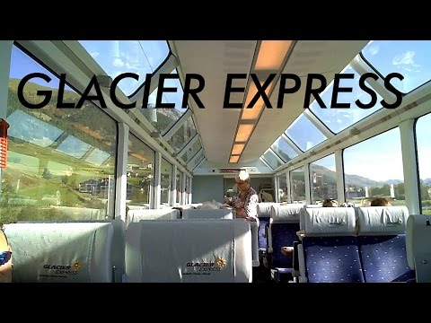SWITZERLAND: Glacier Express - scenic ride through the Alps [HD]