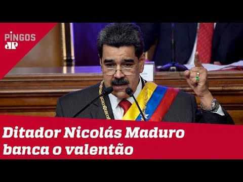 As bravatas do ditador Nicolás Maduro
