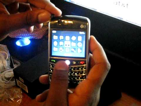 Blackberry Curve 8900 Clone  Video Review