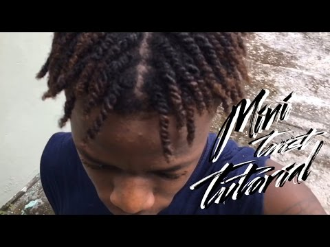 4c Natural Hair Mini Two Strand Twist Tutorial Youtube