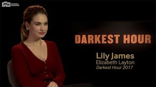 Darkest Hour - Lily James explores history at the Churchill War Rooms
