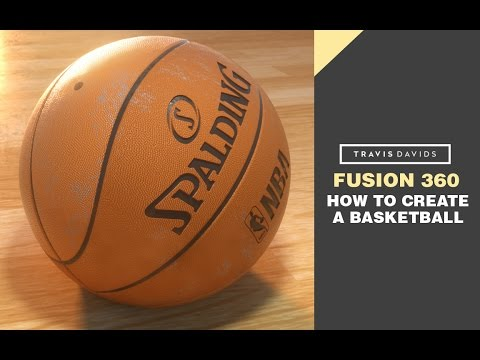 Autodesk Fusion 360 - How To Create A Basketball