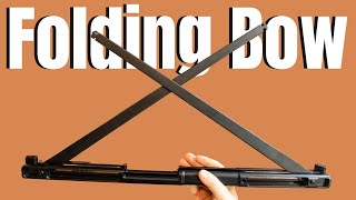 """A FOLDING BOW??? - """"THIS IS CRAZY"""" (SinoArt 59"""" Folding bow)"""