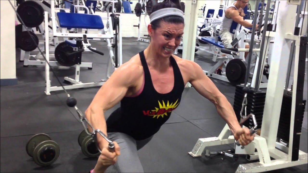 Chest training with IFBB Fitness Pro Jodi Boam - YouTube