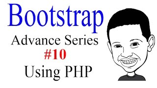 Advance Bootstrap Tutorial With PHP #10: Using PHP to Make The Header Modular