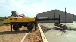 Máy cán nền bê tông laser Siêu Phẳng | Công Nghệ Xây Dựng Mới