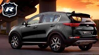 Новый Kia Sportage 4 2016-2017 - фото, цена и комплектации, характеристики, тест-драйвы и видео