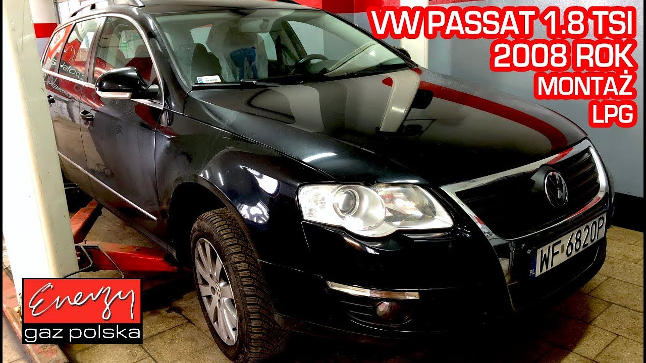 Montaż LPG VW Passat bezpośredni wtrysk 1.8 TSI 2008r w Energy Gaz Polska KME Nevo Sky Direct