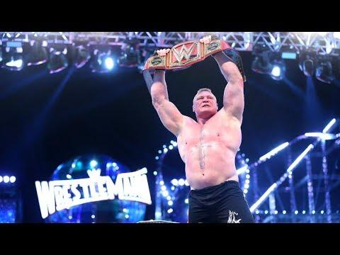 Download Brock Lesnar vs Goldberg Wrestlemania 33 Full Match HD
