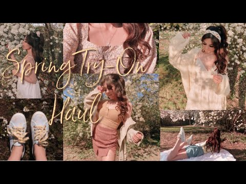 Spring Try-On Clothing Haul Princess Polly Target Loveshackfancy & More!