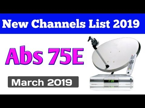 Abs channel list 2019