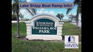 Lake Shipp Boat Ramp - William G Roe Park