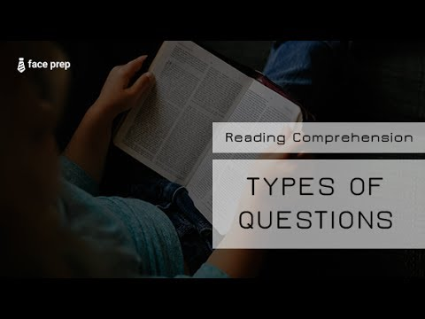 Reading Comprehension - Types Of Questions