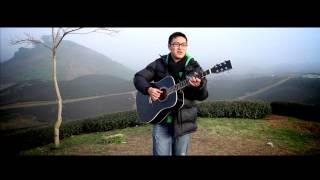 [LIVE] Quê hương tôi, Suy nghĩ trong anh - Minh Anh HANU (Guitar cover)