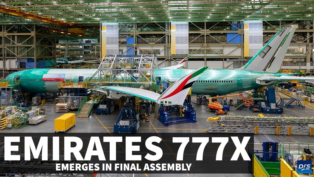 First Emirates 777X Emerges