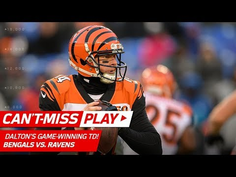 Andy Dalton Hits Tyler Boyd for the Game-Winning TD! | Can