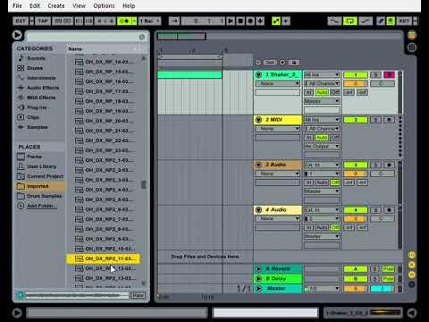 ableton live 9 lite sound packs