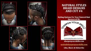 Natural Styles-Braid Designs and Cut #4