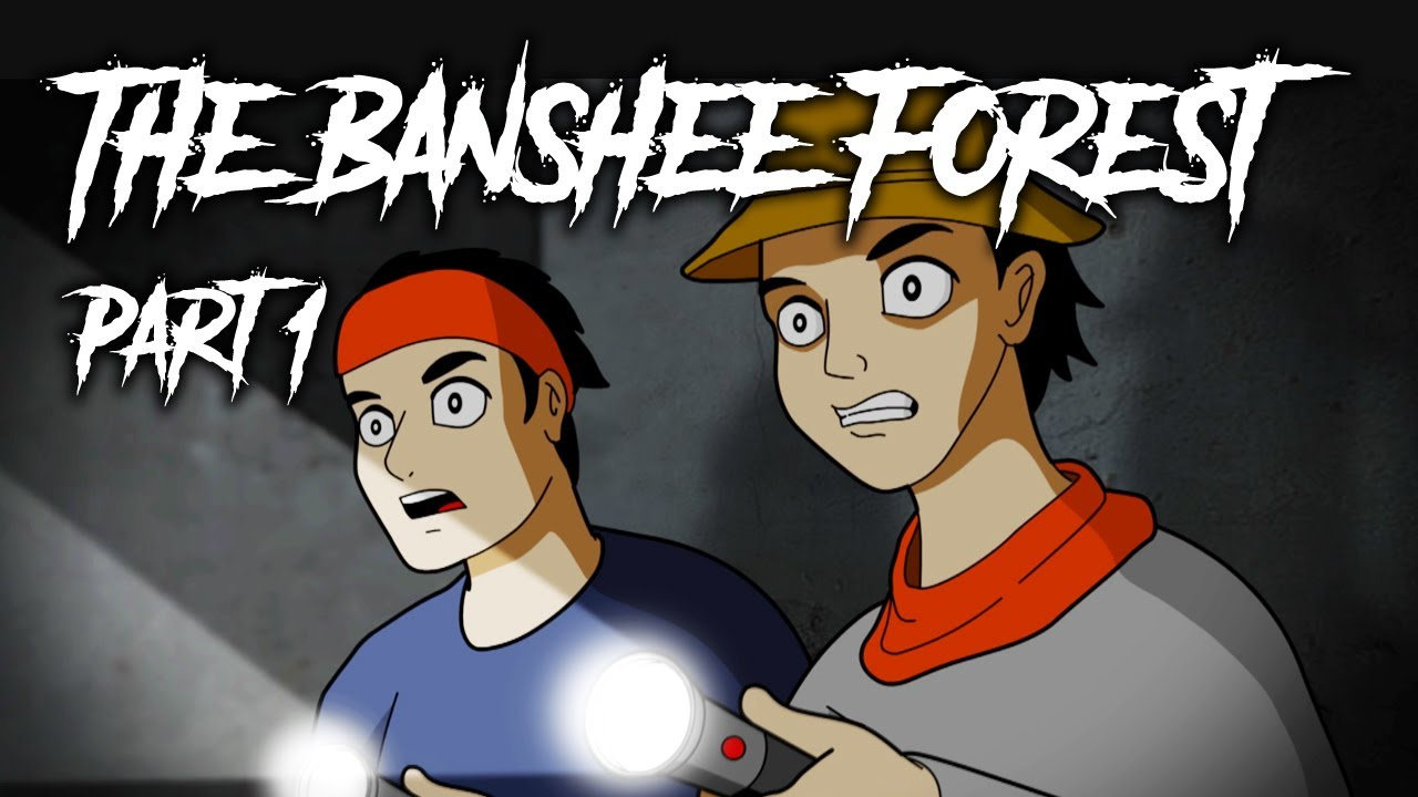 The Banshee Forest - Scary Story Animated