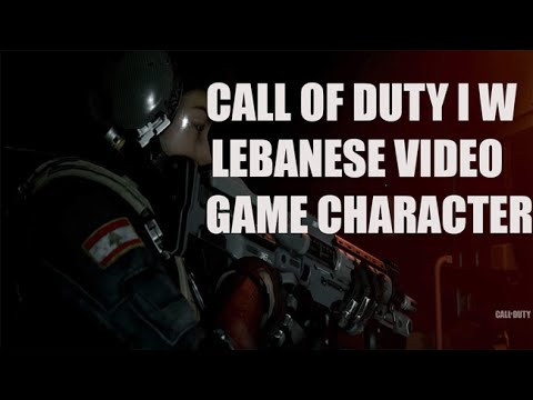 Call Of duty Infinite Warfare -  Lebanese Video Game Character