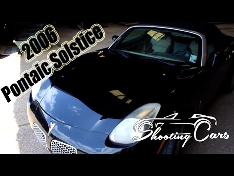 2006 Pontiac Solstice, an in depth review