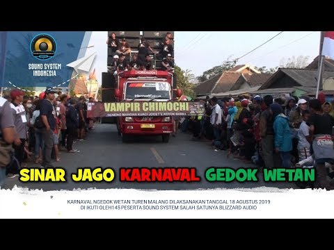 legenda-sound-system-sinar-jago-audio-tampil-maximal-di-karnaval-ngedok-wetan-turen-malang-2019