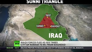 ISIS gains new ground in Iraq, inching closer to Baghdad