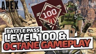 Battle Pass Level 100 & Octane Gameplay - ♠ Apex Legends ♠ - Deutsch German - Dhalucard