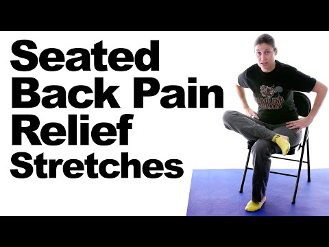 Seated Back Pain Relief Stretches