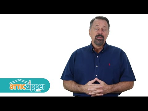 Attic Zipper- The best Insulated attic access cover you can buy.  sc 1 st  YouTube & Attic Zipper- The best Insulated attic access cover you can buy ...