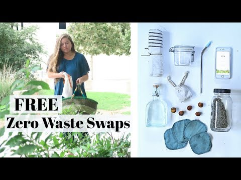 15 FREE Zero Waste Swaps to make TODAY