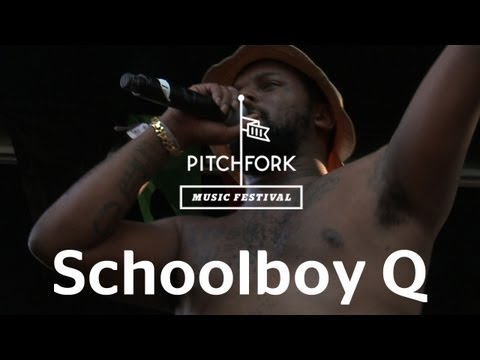 "Schoolboy Q performs ""Hands On The Wheel"" at Pitchfork Music Festival 2012"