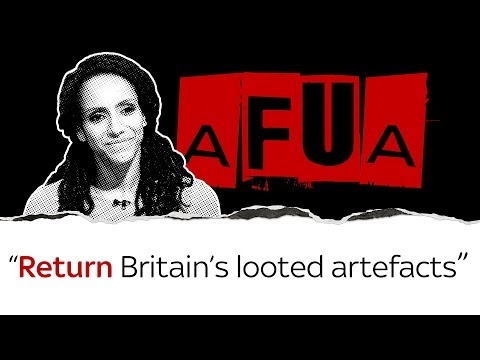"Afua Hirsch on the British Empire's ""looted"" artefacts"