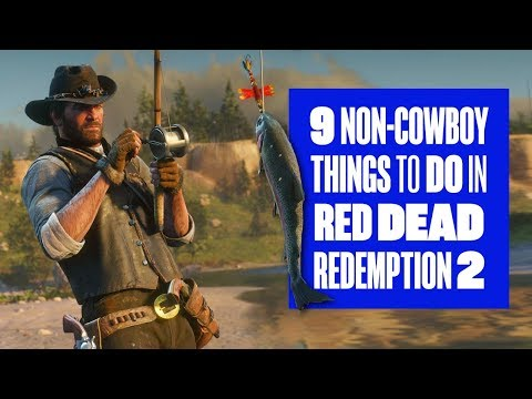 9 Things You Can Do When You Aren't Being a Cowboy in Red Dead Redemption 2