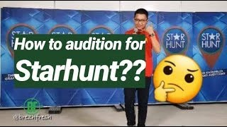 VLOG#12 AUDITION SA STARHUNT ILOILO? WE NEED A STAR!