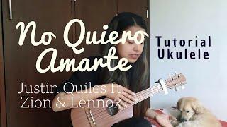 No Quiero Amarte - Justin Quiles Ft. Zion & Lennox