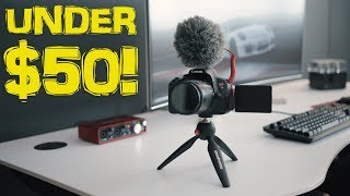 Camera Accessories for Filmmakers UNDER $50