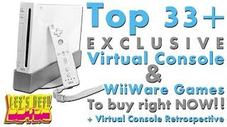 Top Exclusive Wii Virtual Console and WiiWare Games (Let's GET!!)