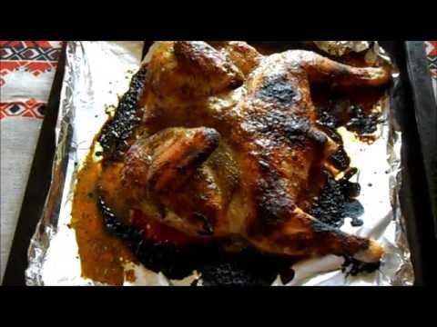 Маринованная в кефире курица с картофелем - пошаговый