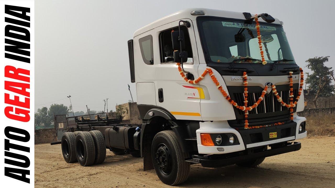 Mahindra Blazo X 25 | Review | 10 Tyre  | Price,Details | Hindi | Auto Gear India