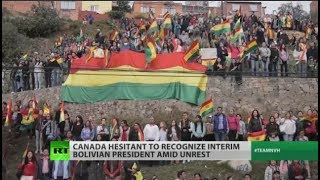 Why Canada won't back Bolivia's new 'president'