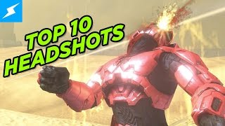 Top 10 Head Shots with DEATH BATTLE's Boomstick