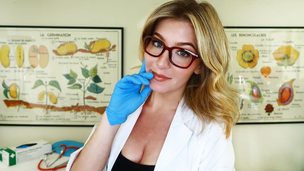 ASMR THE EMBARRASSINGLY AWKWARD DOCTOR CLINIC | Medical Roleplay
