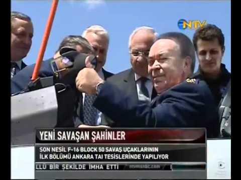 First Turkish F-16 BLOCK 50+ ADVANCED