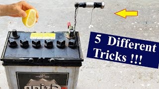 5 Amazing Ideas for Charging any 12V Battery DIY