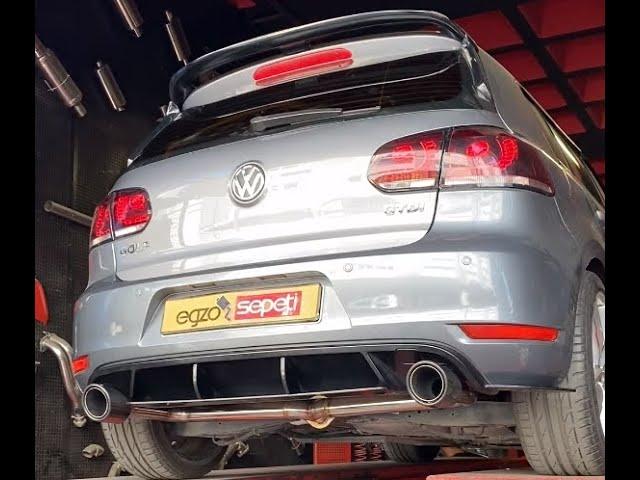 VW GOLF 6 1.6 DİZEL EGZOZ SESİ