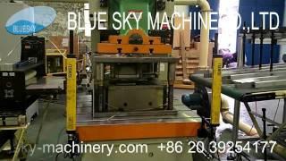 Quick Die Mould adjustment for Aluminium Foil container Machine 2