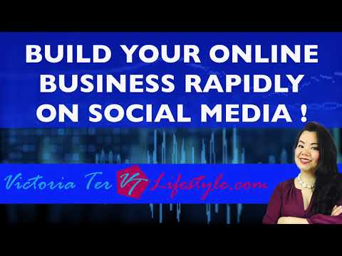 BUILD YOUR ONLINE BUSINESS RAPIDLY on Social Media !