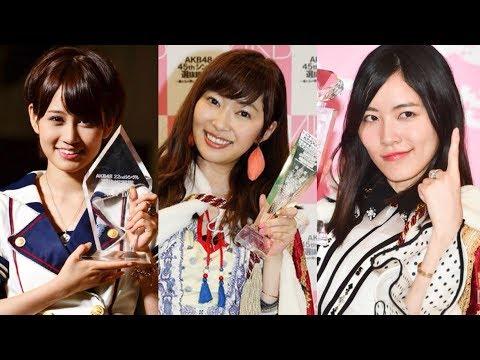 【AKB48総選挙】第1回~10回の歴代「神7」を総まとめ!